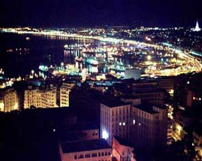 Algiers at night