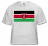 kenya, flag t-shirt, buy