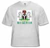 nigeria, coat of arms t-shirt, buy
