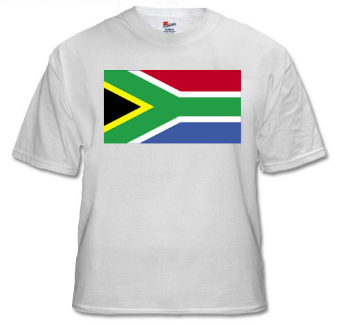 south africa, south african flag t-shirt, buy